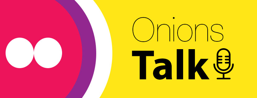 Onions Talk podcast banner