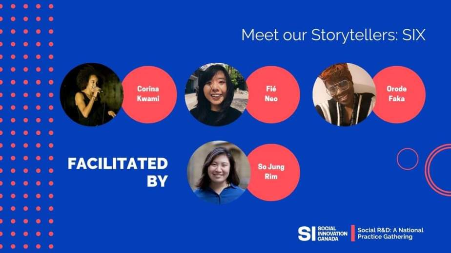 Social R&D storytelling